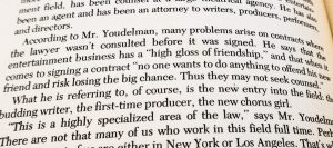 photo of a paragraph on page 30 of the book, Do I Really Need a Lawyer?
