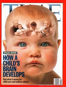 Penny Gentieu photos on cover of Time magazine February 3, 1997