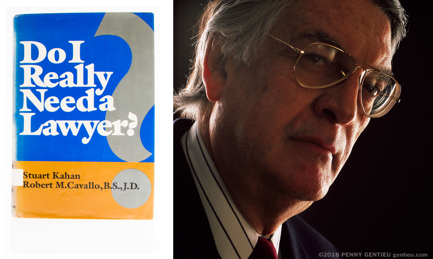 photo of Robert Cavallo and his book, Do I Really Need a Lawyer?