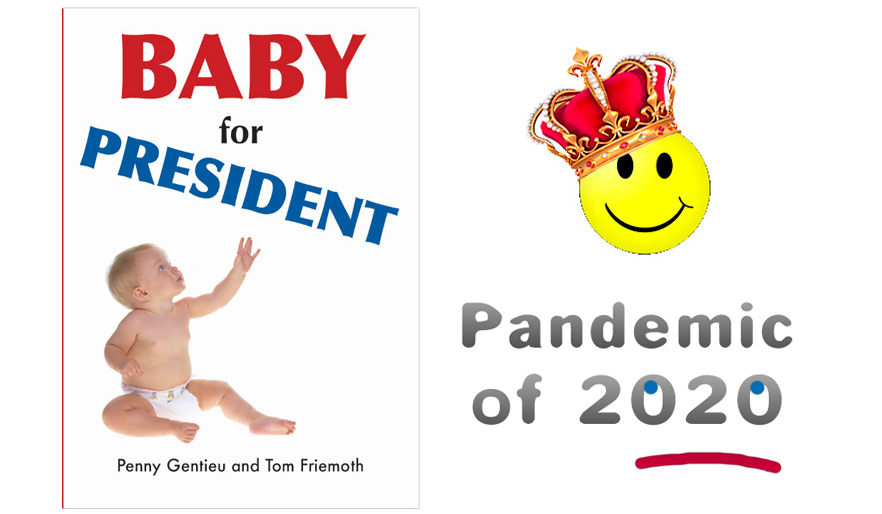 Baby For President stands up to Amazon in the Pandemic of 2020